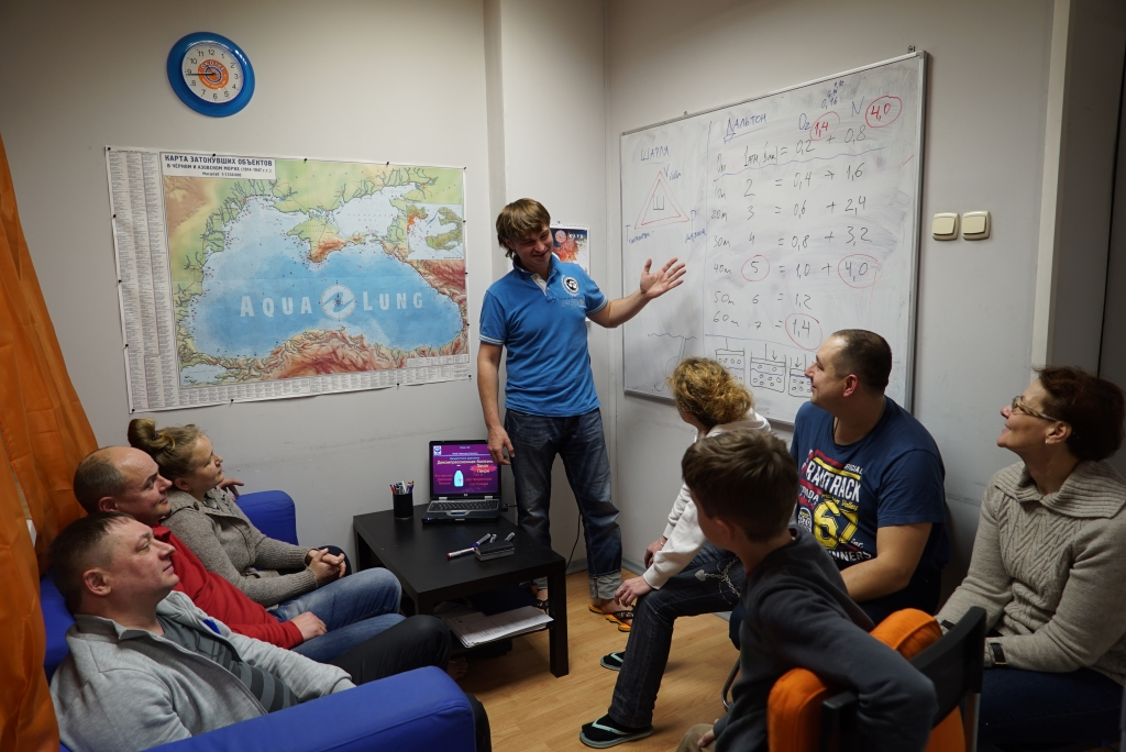 Обучение дайвингу в СПб